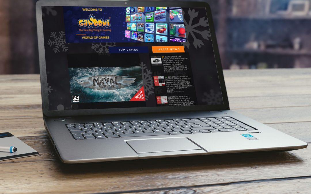 GAWOONI PLC Gaming Portal
